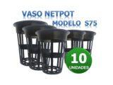 NetPot S75 para Canos de 75mm